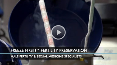 Freeze First! Fertility Preservation