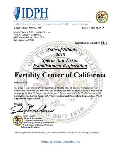 Sperm Bank California San Diego